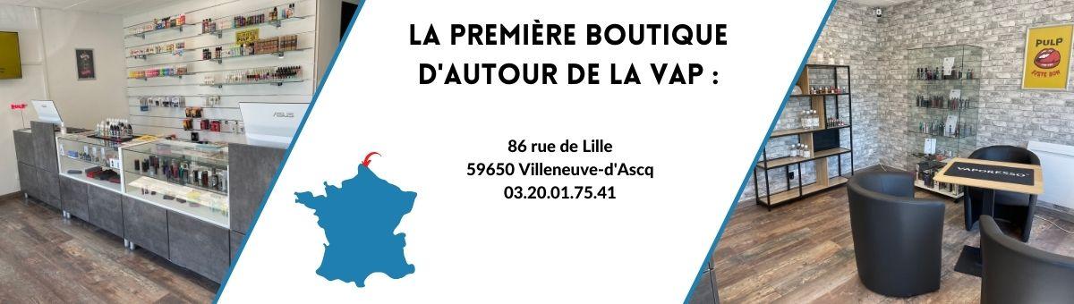 Nouvelle boutique Autour de la Vap à Villeneuve d'Ascq