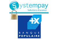 Partenaire Systempay & Banque Populaire